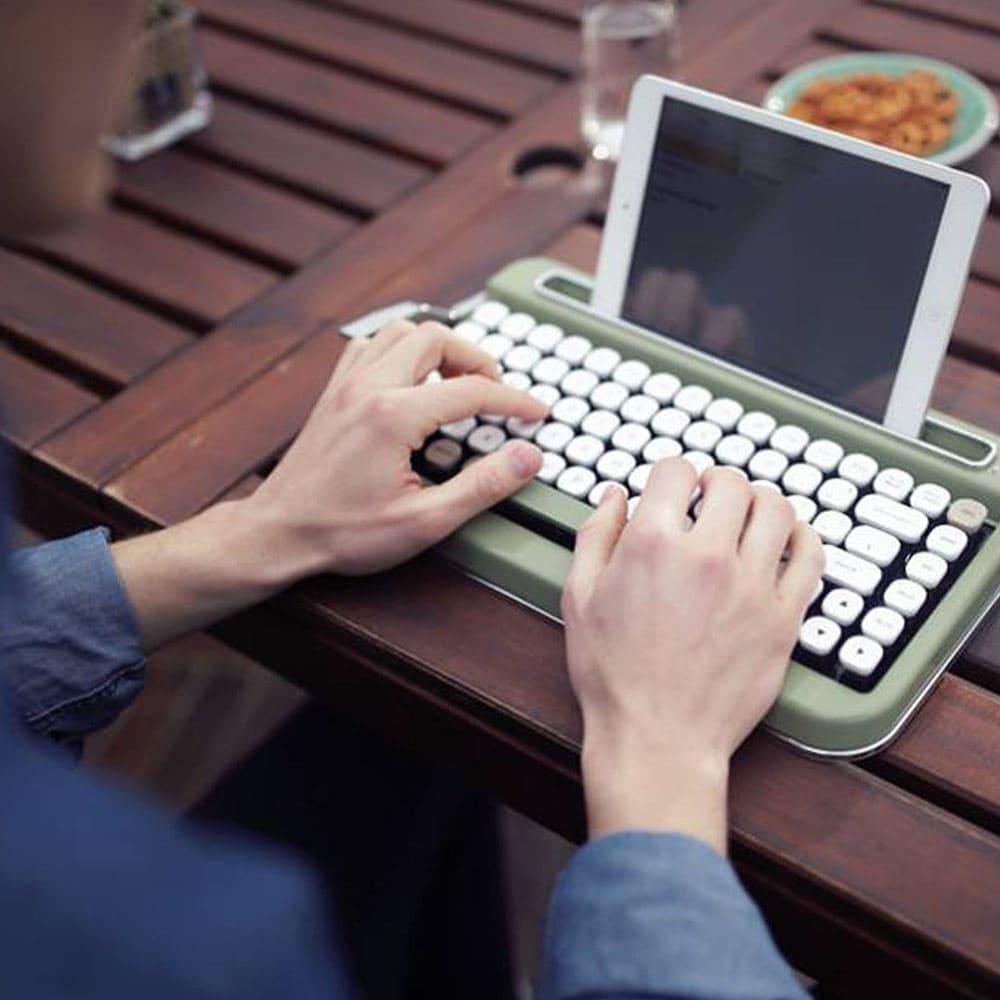 Penna Retro Tastatur mit Bluetooth-Funktion
