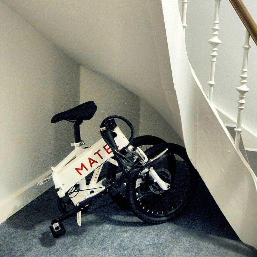 MATE Bike das vollgefederte Elektro Faltrad