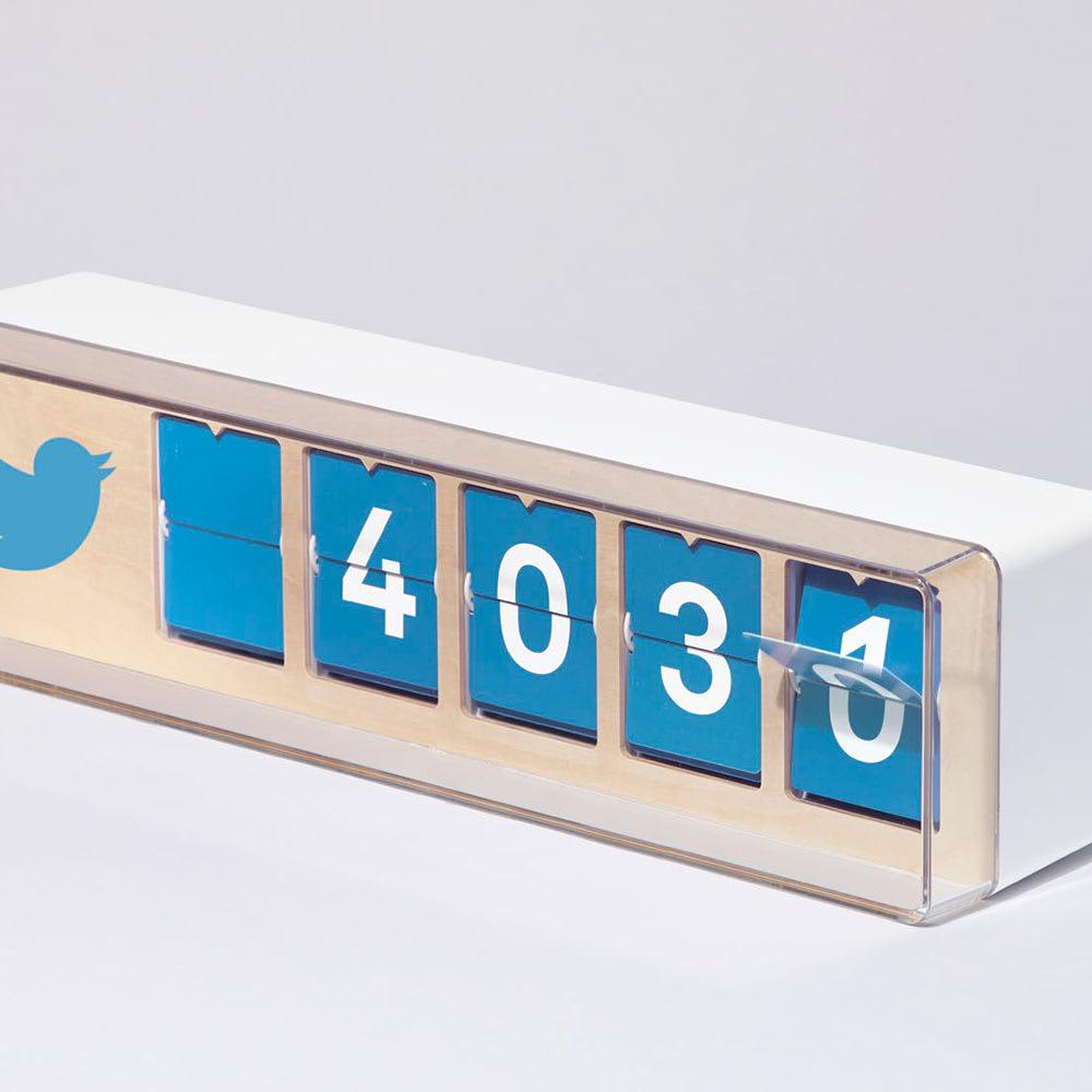 Smiirl der Real-Time Social Media Counter