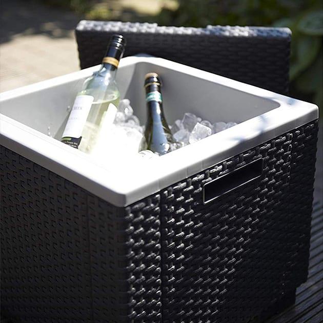 Kühlbox und Beistelltisch in einem, modern und praktisch für 40 Liter