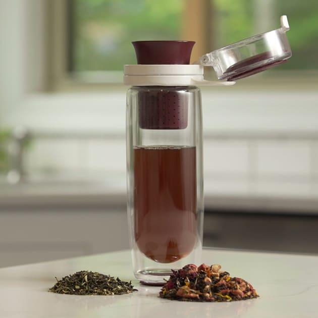 Multisensorische Teekanne von Mosi Tea für loseblättrigen Tee überall