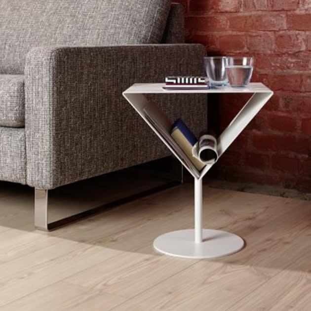 Optisches Highlight – Martini Beistelltisch von Michael Raasch