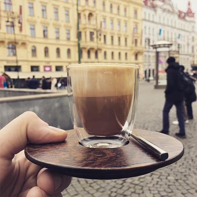 Magnetisches Cappuccino Set von Clap Design