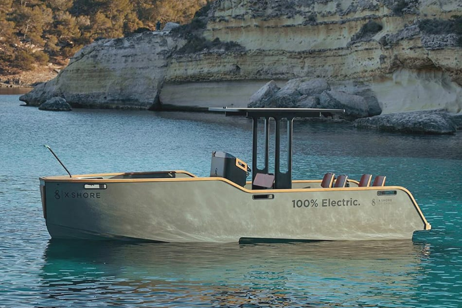 X Shore Elektro Boot