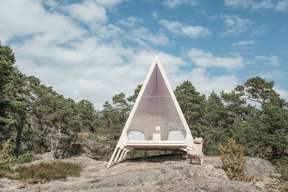 Nolla Cabin von Robin Falck