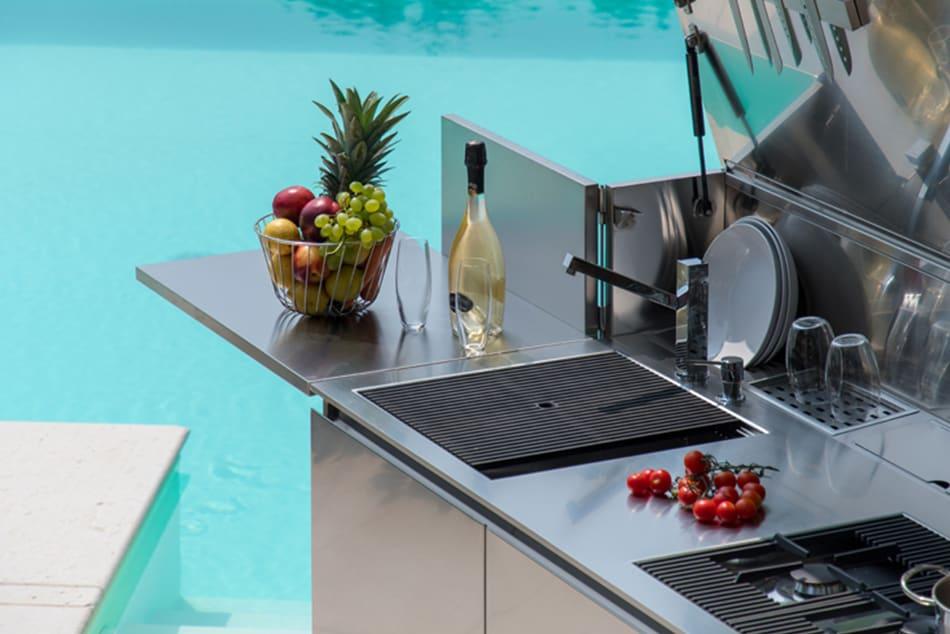 FINALMENTE - die Edelstahl Outdoorküche von Foster