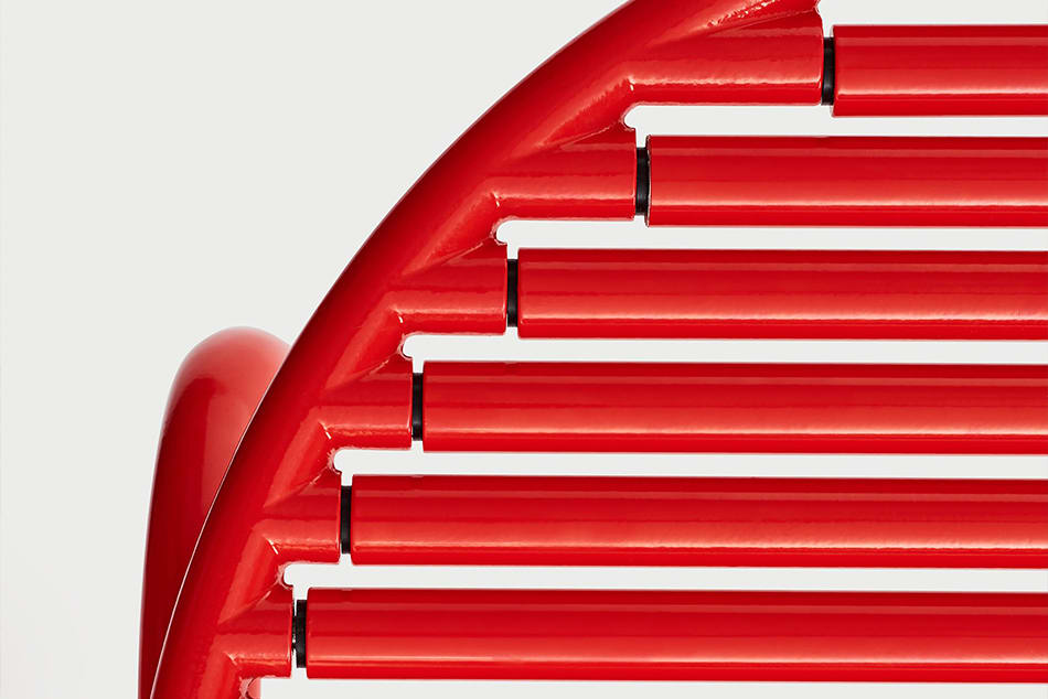 ROLL COLLECTION – Chair von Akttem aus rotierenden Stäben