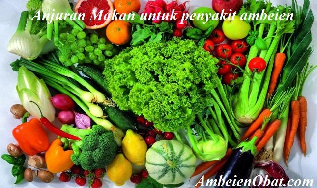 Anjuran makanan bagi penderita penyakit ambeien