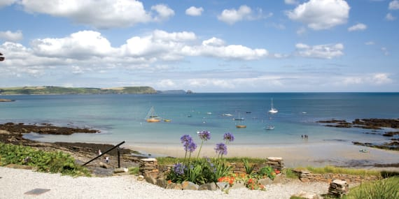 Remarkable Holiday Cottages Cornwall St Mawes Portscatho Roseland Download Free Architecture Designs Terstmadebymaigaardcom
