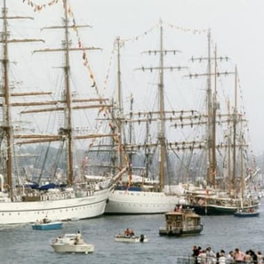 Blog Thumbnail - Falmouth feeling benefit of tall ships races
