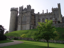 Arundel Castle - West Sussex click to go to site.