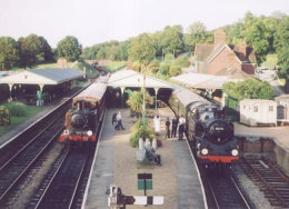 Bluebell Railway - Sheffield Park East Sussex click to go to site.