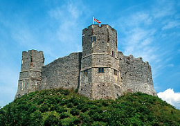 Lewes Castle - East Sussex click to go to site.