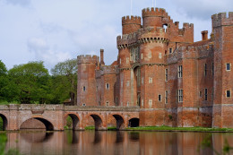 Herstmonceux Castle - Nr Hailsham East Sussex click to go to site.
