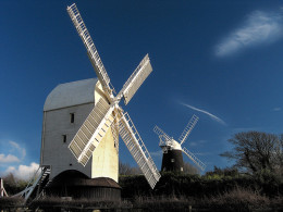 Jack and Jill Windmills - Clayton West Sussex click to go to site.