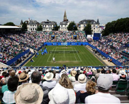 International Tennis - Eastbourne - June click to go to site.