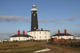 The Old Dungeness Lighthouse - Dungeness Kent click to go to site.