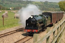 Romney Hythe and Dymchurch Railway - New Romney Kent click to go to site.