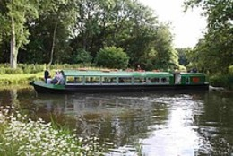 The Wey and Arun Canal - Loxwood West Sussex click to go to site.