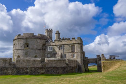 Pendennis Castle click to go to site.