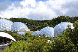 The Eden Project click to go to site.