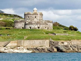 St Mawes Castle click to go to site.