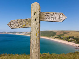 The South West Coast Path click to go to site.