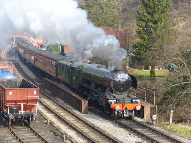 Blog Thumbnail - Flying Scotsman to visit Sussex!