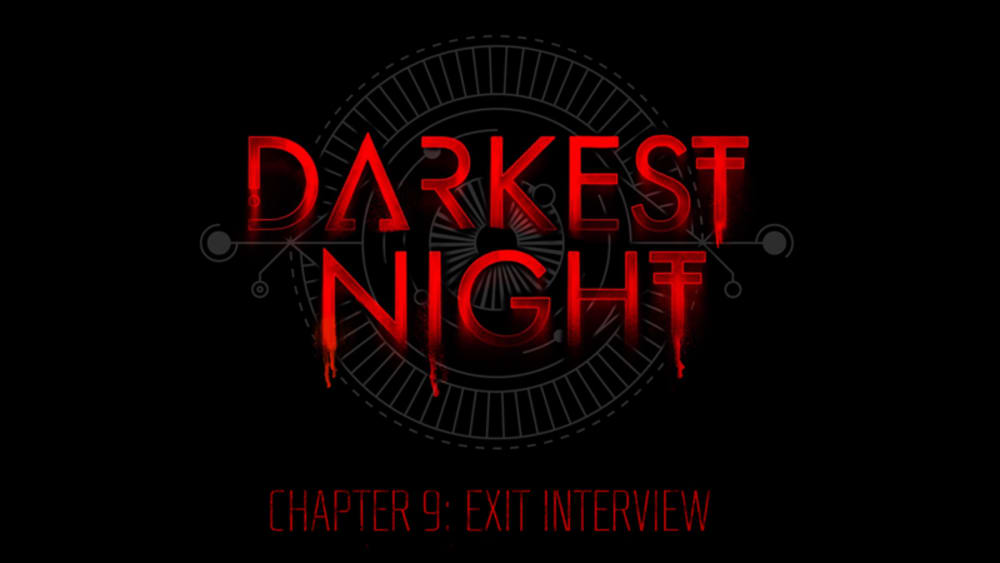 Chapter 9 - The Last Interview
