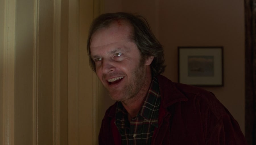 Jack Torrance in The Shining