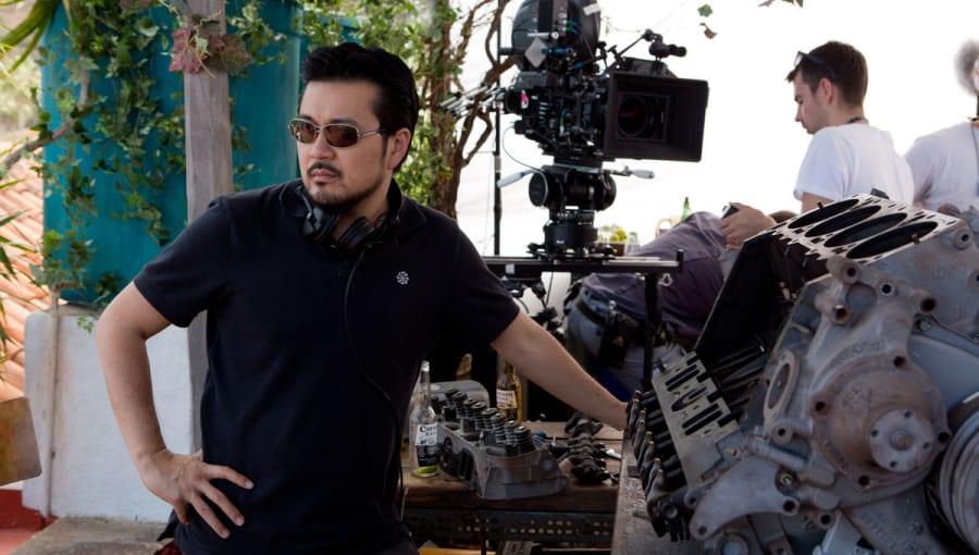 Justin Lin directing Furious 6