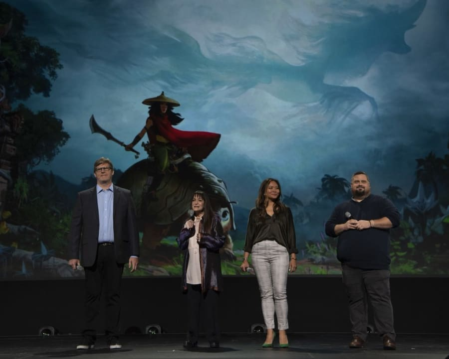 Raya and the Last Dragon Filmmakers