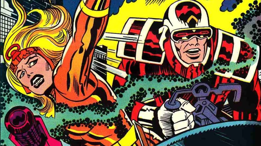 The Eternals Jack Kirby comics