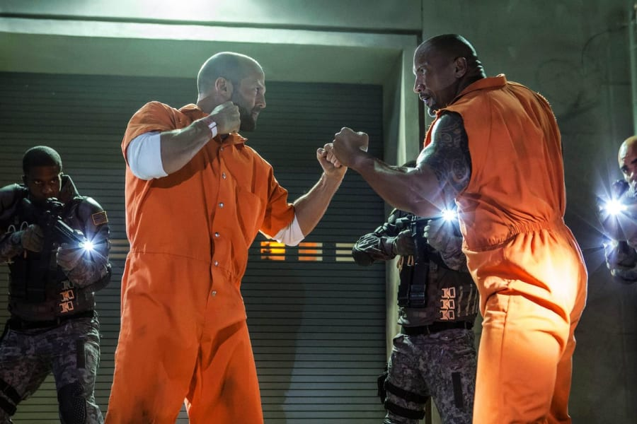 The Prison Escape In THE FATE OF THE FURIOUS