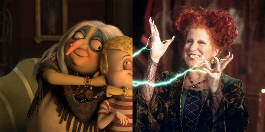 Bette Midler as Grandmama