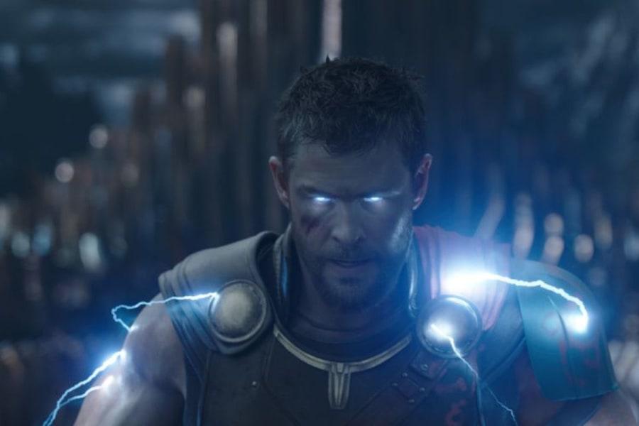 Thor in Thor Ragnarok