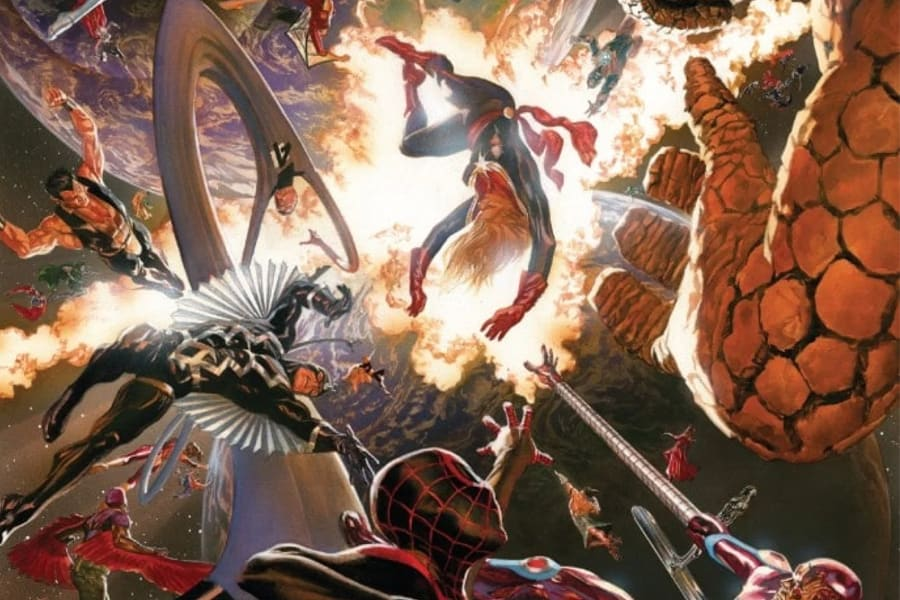 Secret Wars comic
