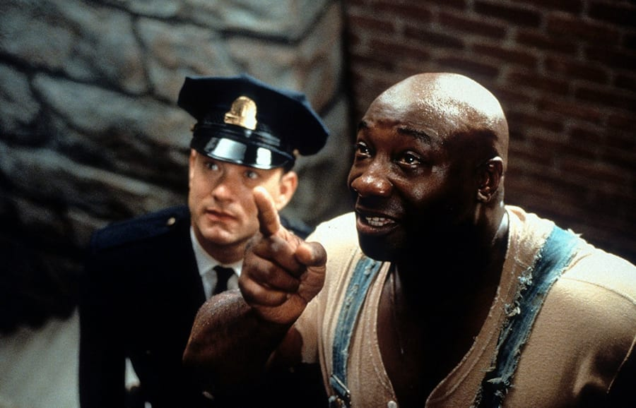 Tom Hanks and Michael Clarke Duncan in The Green Mile