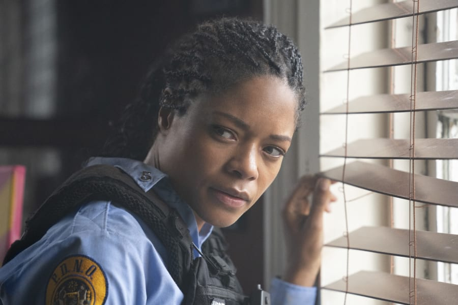Naomie Harris in Black and Blue