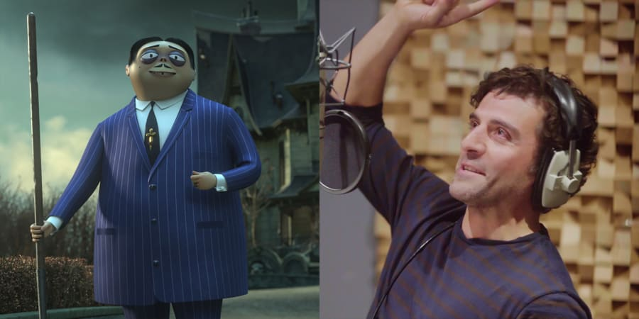 Oscar Isaac as Gomez Addams