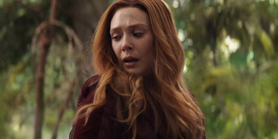 Elizabeth Olsen's Scarlet Witch