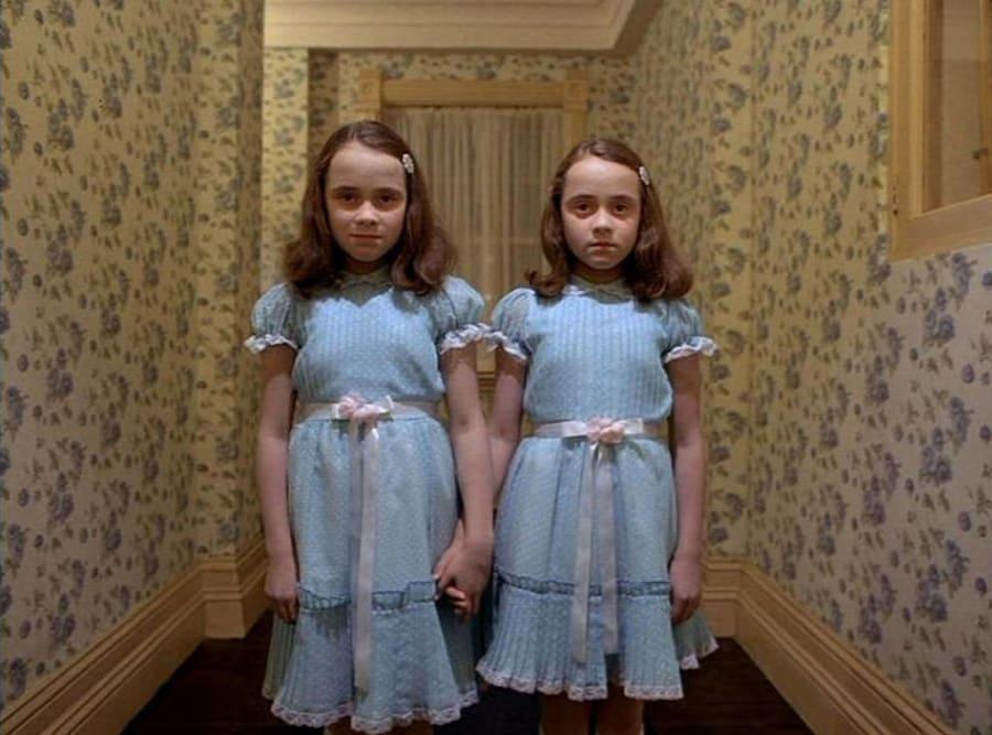 Alexie and Alexa Grady in The Shining