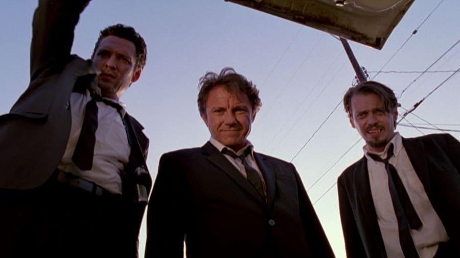Trunk shot in Reservoir Dogs