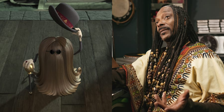 Snoop Dogg as Cousin Itt