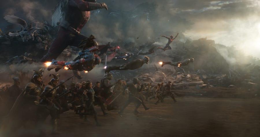 Avengers Endgame portals charge