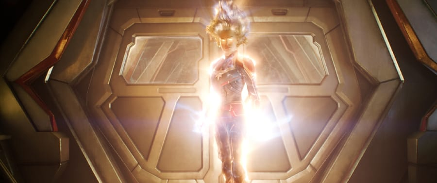 Captain Marvel in binary mode in Captain Marvel