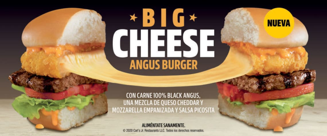 Big cheese angus burger