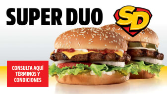 Super Duo Carl's Jr.®