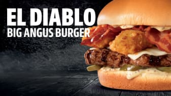 El Diablo Big Angus Burger ®