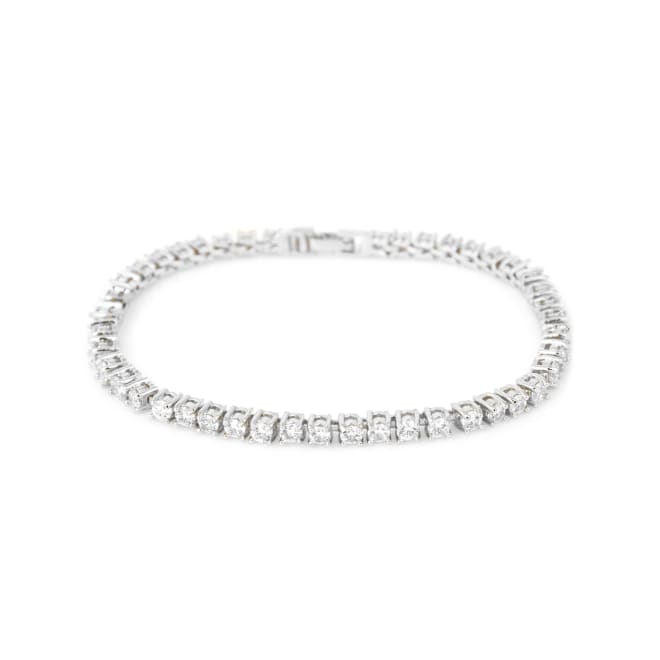Diamond tennis bracelet 18k gold